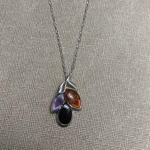 Jewelry - 2 for $20 Sterling silver necklace with pendant